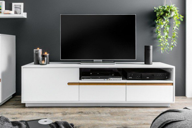 Tv Meubel Elements 160cm Wit -  38952