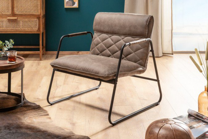 Fauteuil Mustang Lounger Antierk Taupe - 39484