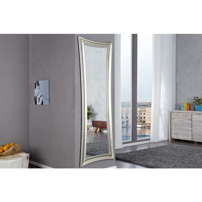wandspiegel skinny 180cm zilver antiek online bestellen ventura design. Black Bedroom Furniture Sets. Home Design Ideas