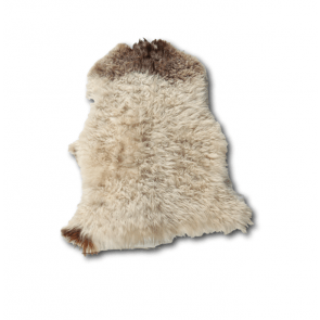 Vloerkleed Curly Sheepskin Brown Heads 100x70cm - VD-SK02BRH