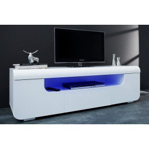 TV Meubel Cube Ambience Wit 150cm met led verlichting - 37869