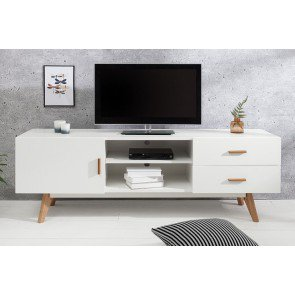 TV Meubel Scandinavia 150cm Wit - 38313