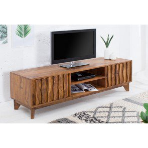 TV Meubel Retro 145cm Massief Sheesham Hout - 38399