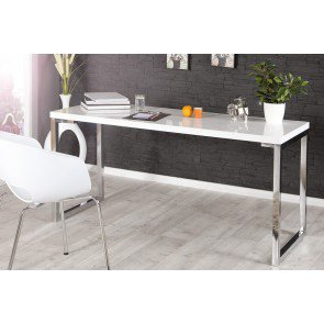Bureau White Desk Wit 140cm - 21141