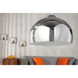 Hanglamp Chrome Ball 34cm  - 5862
