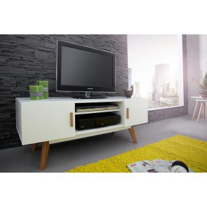 TV Meubel Scandinavia Wit 120cm - 35134