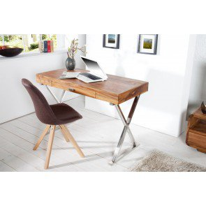 Bureau Grace Massief Sheesham Hout 120cm - 35715