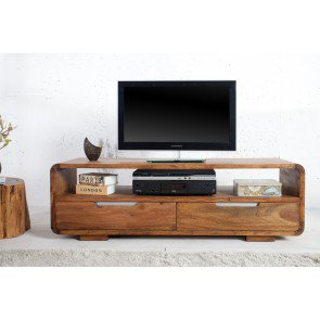 Tv meubel Goa 130cm Massief Sheesham Hout  - 35869