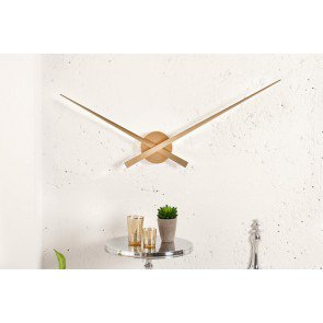 Klok little big time goud 80cm - 36356