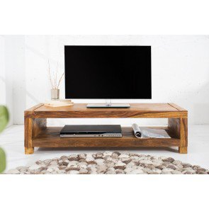 TV Meubel Madeira II 110cm Massief Sheesham Hout - 37203