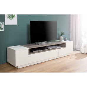 TV Meubel Empire wit / beton 180cm - 37527