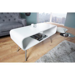 Salontafel Apollo Retro Wit 90cm - 37940