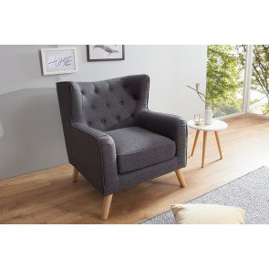 Fauteuil Hygge Antraciet - 38323