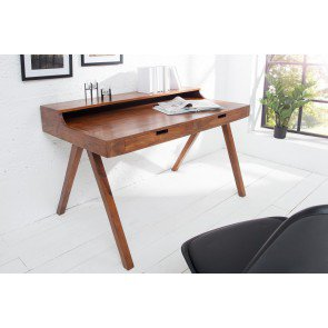 Bureau Monsoon 120cm Massief Acacia hout - 37837