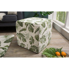 Hocker Tropical 45cm Groen - 38764