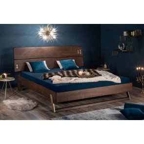 Bed Mammoet 180x200cm Massief Acacia Hout - 39468
