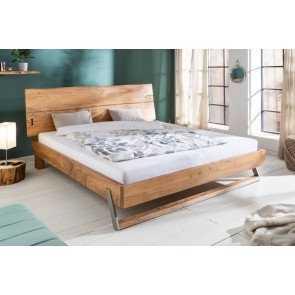 Bed mammoet 180x200cm Massief Acacia Hout - 39785
