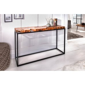 Console Tafel Root  115cm Massief Hout - 39538