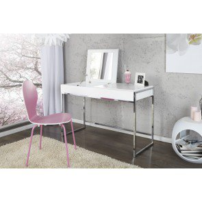 Sidetable / Make-up tafel Milano 115cm Wit - 12616