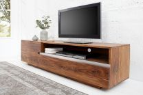 TV Meubel Fire&Earth 160cm Massief Sheesham Hout - 38112