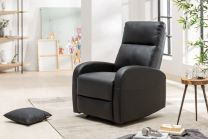Fauteuil Hollywood II Kunstleer Zwart - 40789