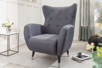 Fauteuil Don Antraciet - 40983