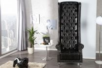 Chesterfield Royal Chair Zwart - 21400