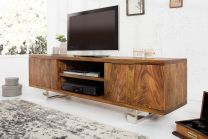 TV Meubel Fire & Earth 160cm Massief Sheesham Hout - 37209