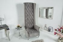 Fauteuil Royal Chair zilvergrijs - 38967