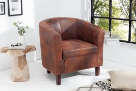 Fauteuil Hemmingway Whisky Bruin - 38475
