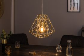 Hanglamp Cage S Goud 36cm - 39319