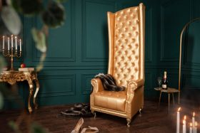 Fauteuil Chesterfield Heritage Goud - 40288