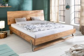 Bed Mammoet 180x200cm Massief Acacia Hout- 40513
